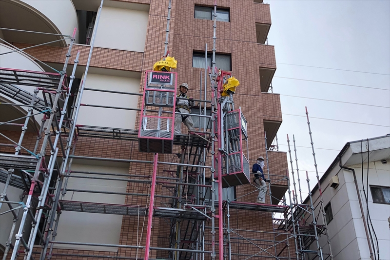 足場組立・足場解体・土木工事は愛媛県松山市の株式会社RINKへ